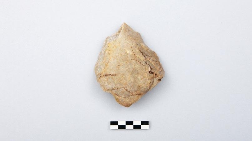 파주 대성동마을서 구석기시대 유물 수습