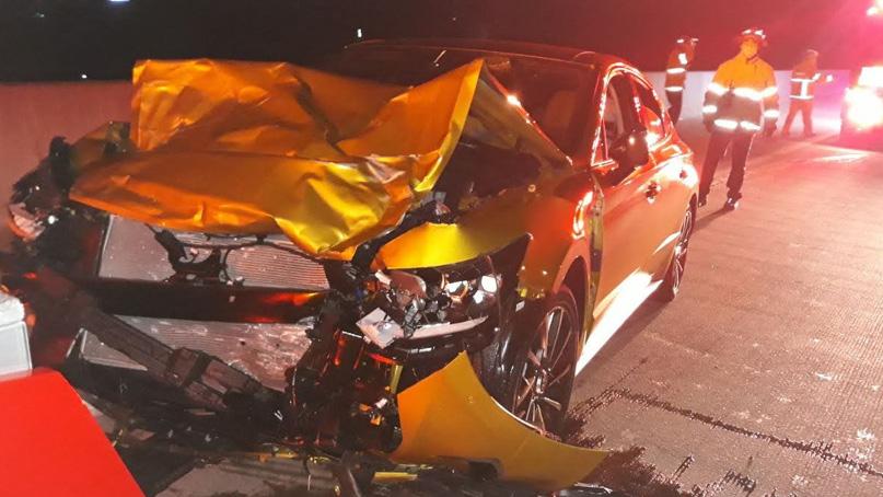 고속도로서 음주운전 차량과 추돌…50대 여성 숨져