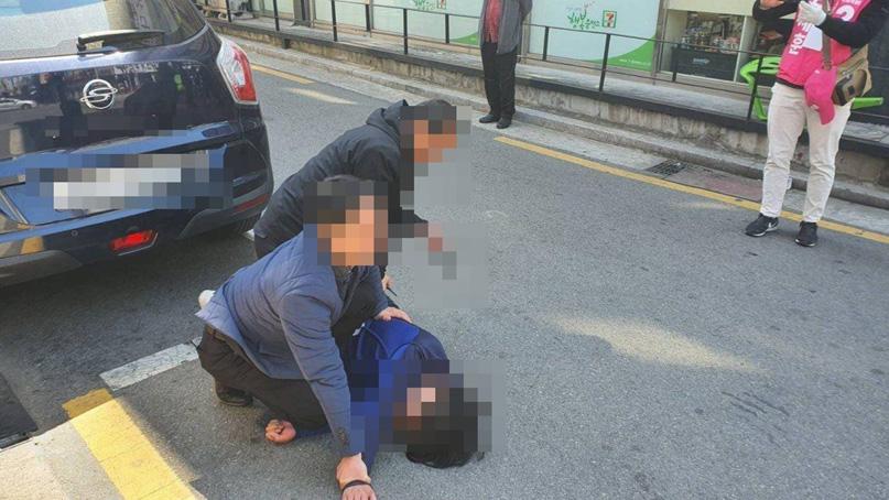 검찰, 오세훈 유세차량에 흉기 난동 50대 男에 실형 구형