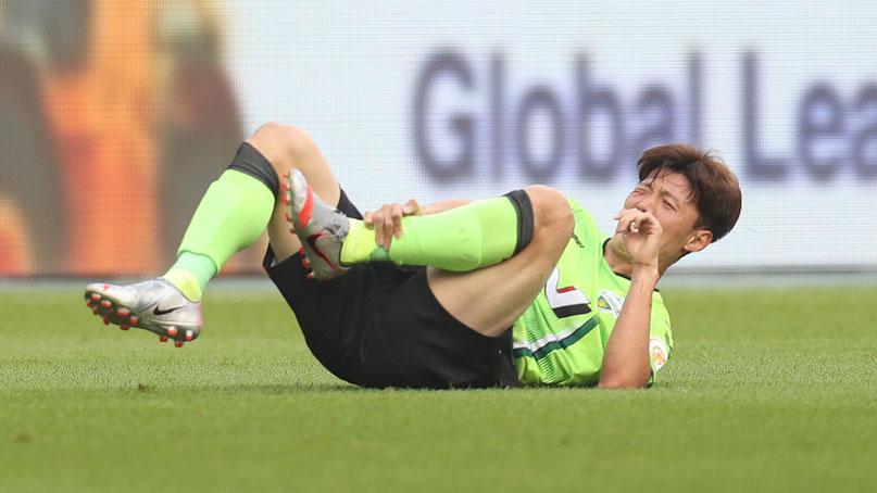 전북 김보경, 발목 인대 손상으로 최대 6주간 결장