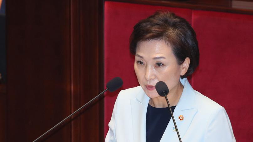 김현미 '김포·파주도 규제지역 조건에 부합될 것'