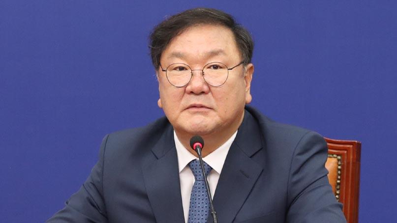 김태년 '추경 심사 더 못 늦춰…통합당, 조건 없이 들어오라'