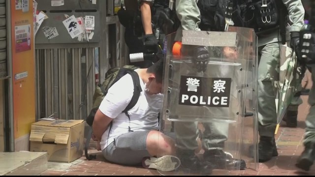 [Al jazeera] Hong Kong: Hundreds arrested over China security law protests