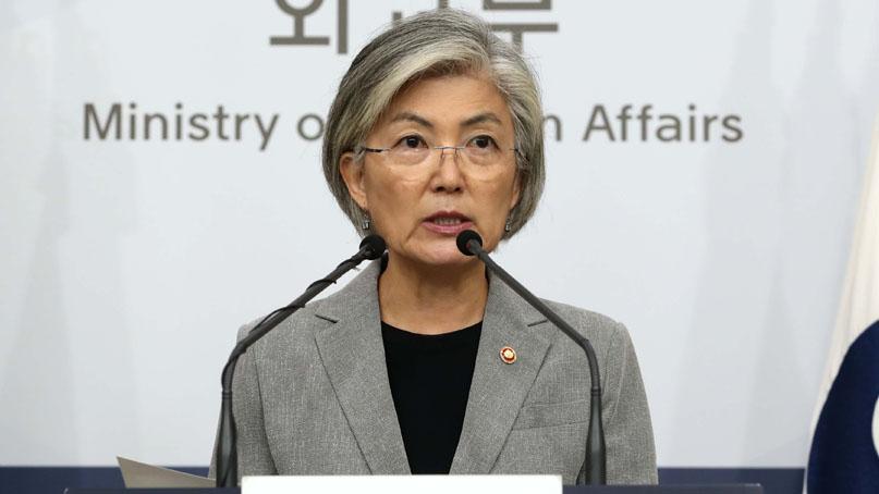 강경화 '北 대화 복귀 위해 전방위 노력…美와 워킹그룹 개선 논의'