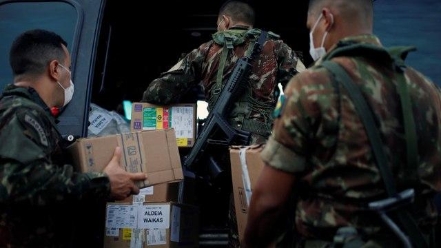[Al jazeera] COVID-19: Brazil deploys army to help protect Indigenous people