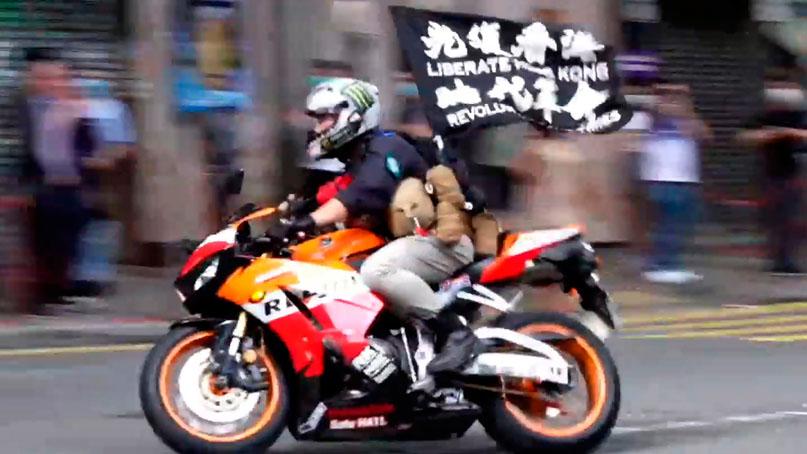 20대 남성, 홍콩보안법 첫 기소…언론계도 비상 '기자 기소도 시간문제'