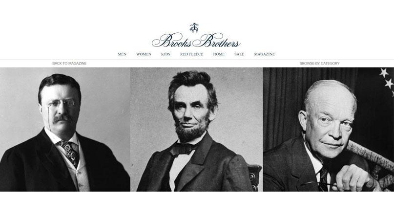 링컨·트럼프 입던 200년 美 자존심 '브룩스 브라더스' 파산보호신청
