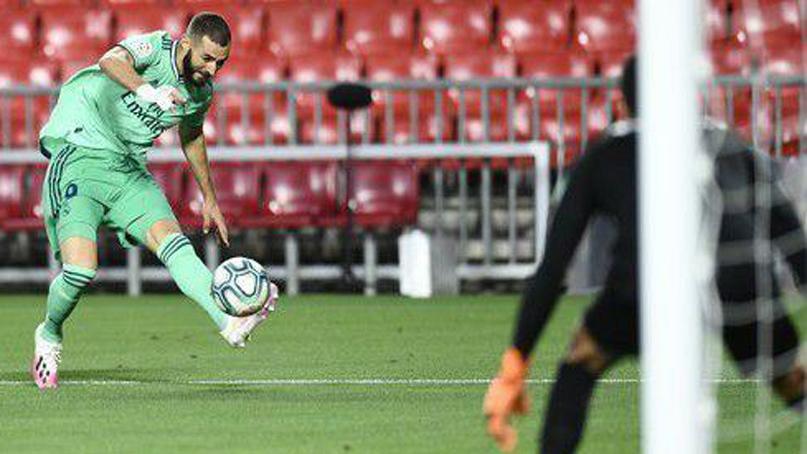 레알 마드리드, 그라나다 2-1 제압…우승까지 1승 남았다