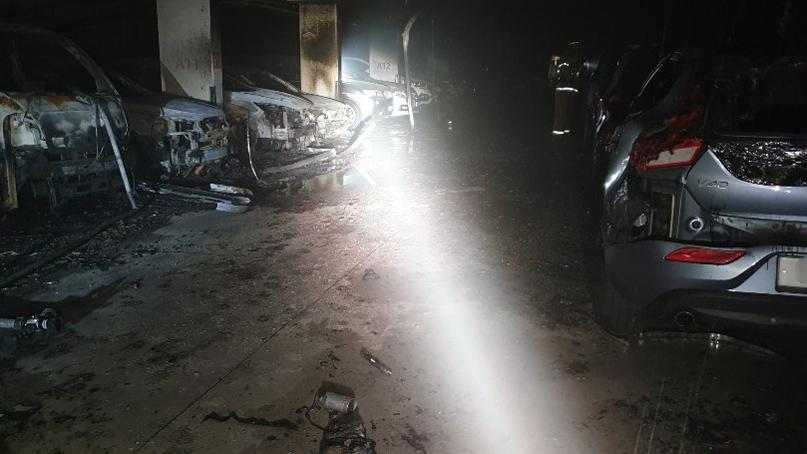 용인 아파트 지하주차장 승용차서 불…주민 70여명 긴급대피