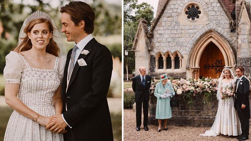 英 공주, 백만장자와 스몰웨딩…결혼식 사진서 사라진 아빠 앤드루 왕자