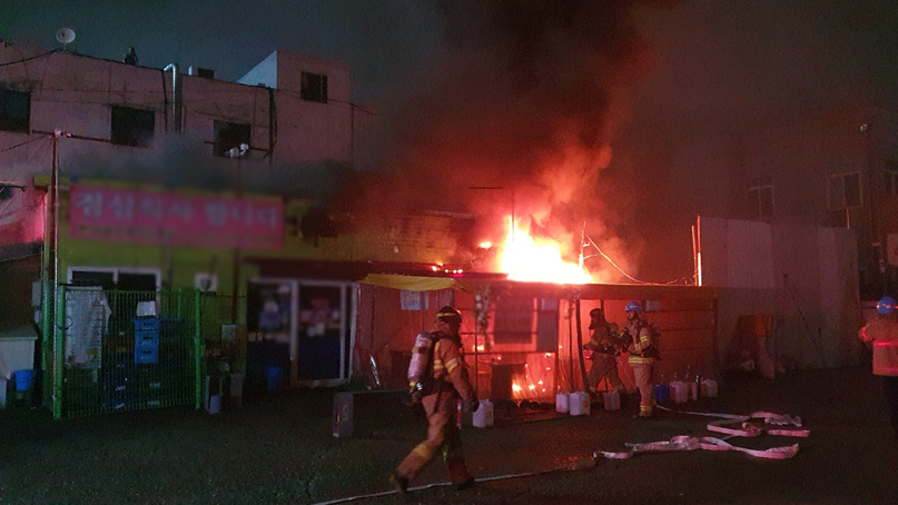 인천 부평구 음식점에서 화재…720만원 재산 피해