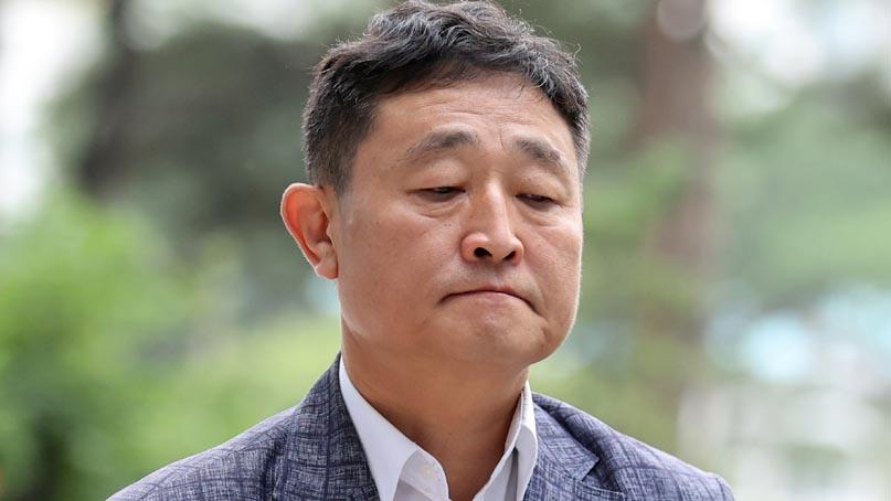 '운동권 대부' 태양광 사업가 허인회, 법정 구속