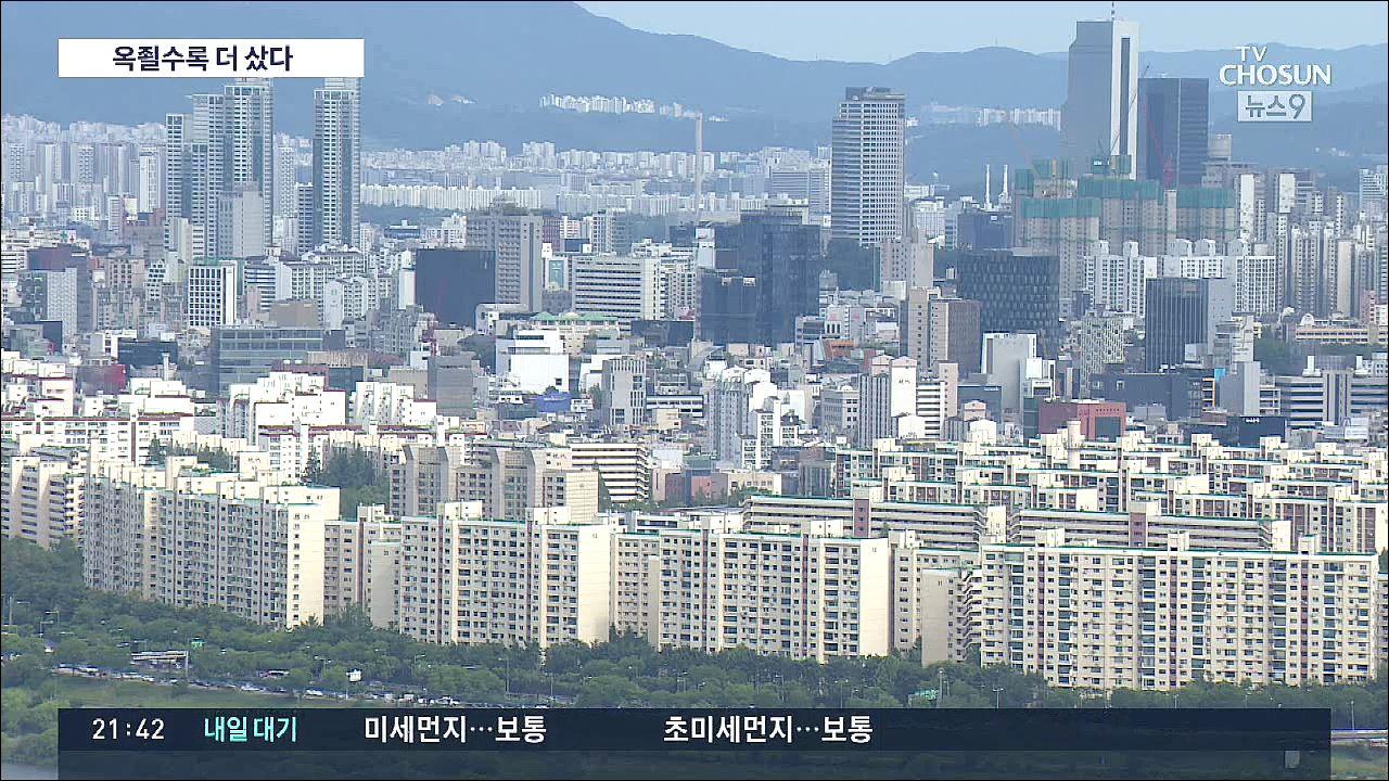 옥죌수록 '패닉바잉' 늘어…7월 주택거래량 '역대 최대', 청약도 신기록