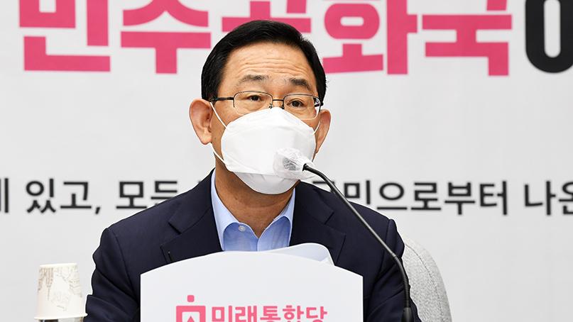 주호영, 거리두기 '3단계 격상' 요구…'더 불행한 사태 올 수도'