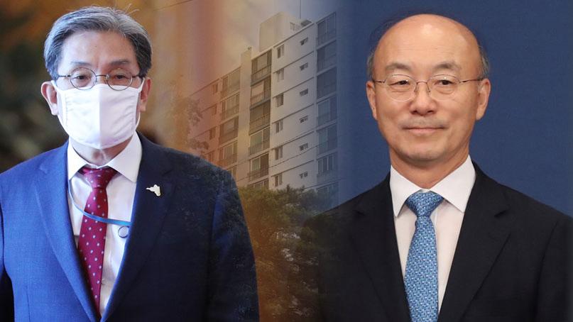 [취재후 Talk] 노영민 비서실장과 김조원 전 수석은 왜 말다툼을 했을까?