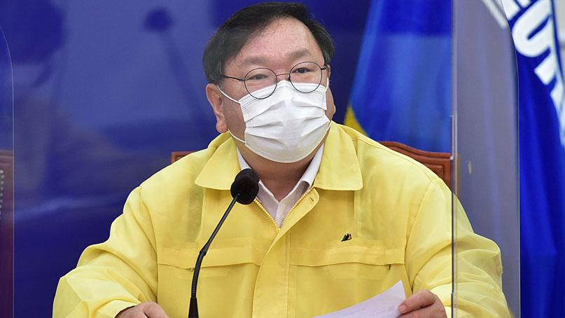 김태년 '검찰, 秋 신속수사해 있는 그대로 발표하길'