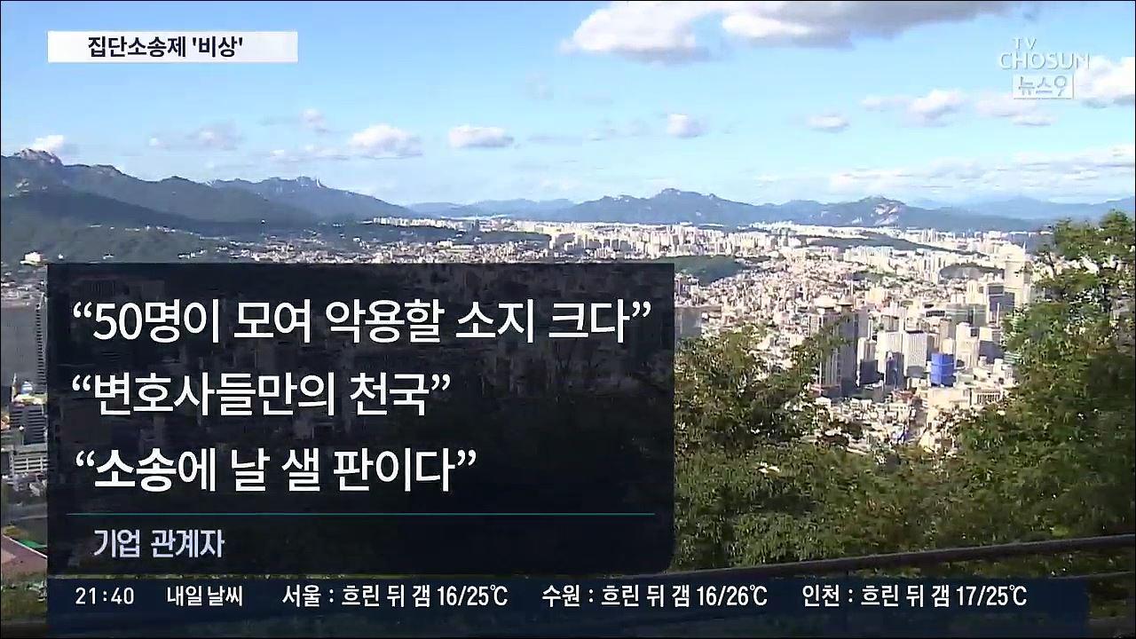 '집단소송제'까지 기업들 패닉…'소송으로 날 샐 판' '존폐 위기'