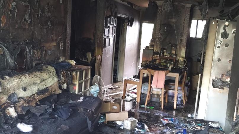 인천 남동구 아파트서 화재…중학생 전신 3도 화상