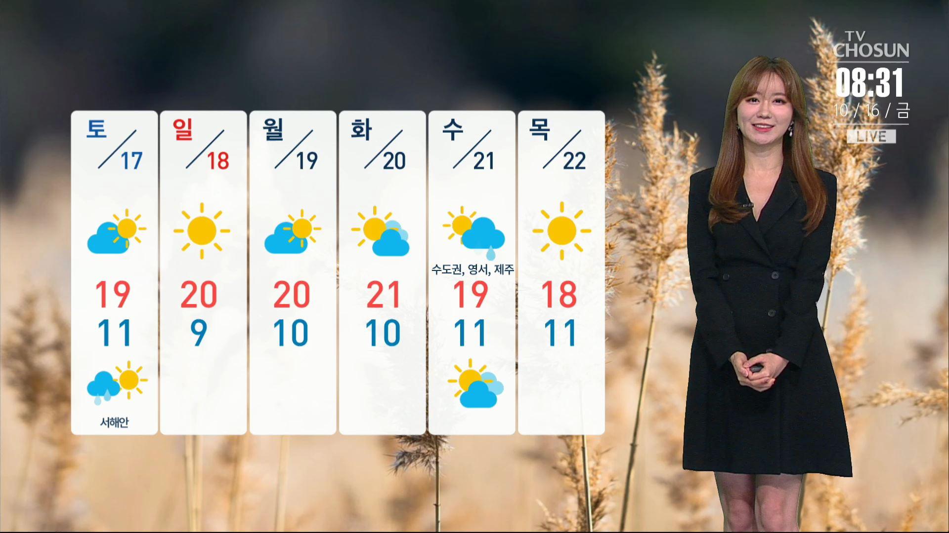 [날씨] 오늘 아침도 쌀쌀…경기 북부·제주 비