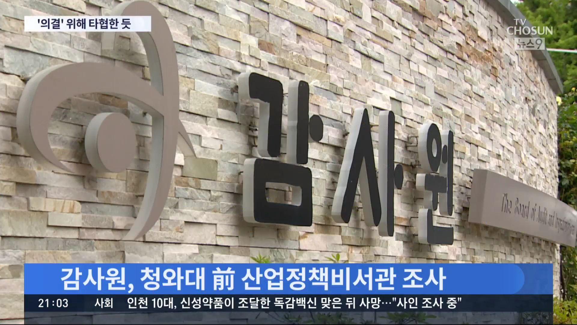감사원, '월성 1호기' 靑 관여 여부도 조사…문책 요구 없을 듯