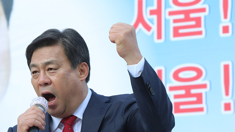 김선동, 서울시장 출마 선언…'서울을 서울시민에게 돌려줄 것'