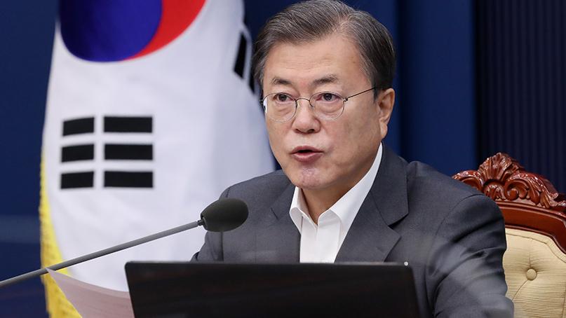 文대통령 갤럽 지지율도 39%…차기 대선 '야당 44% vs 여당 41%'