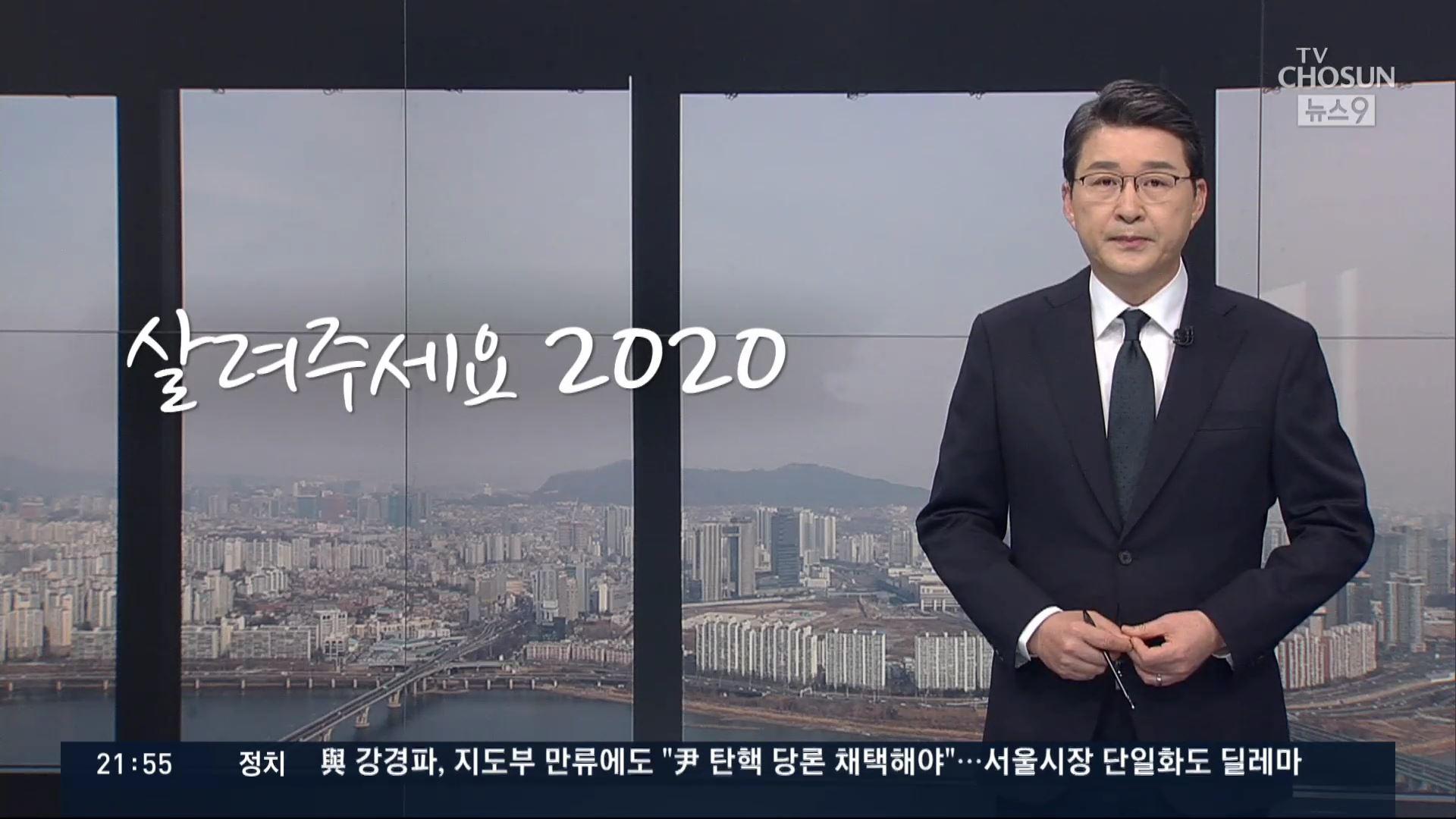 [신동욱 앵커의 시선]  살려주세요 2020