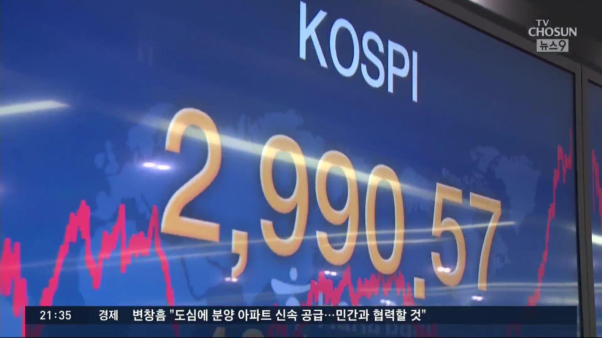 개인 '폭풍 매수'에 코스피 3000 '눈 앞'…'실물·금융 괴리' 우려