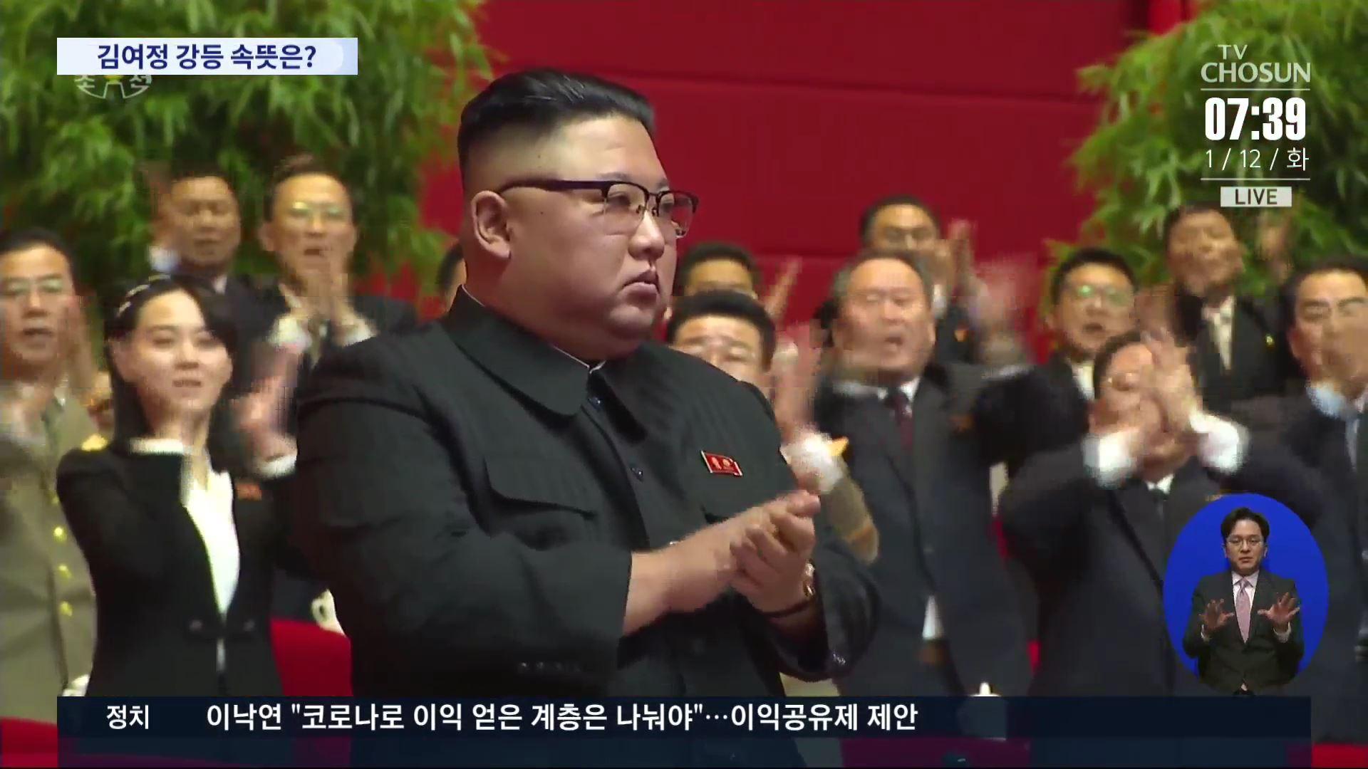 김정은, '노동당 총비서' 추대…김여정은 후보위원 탈락