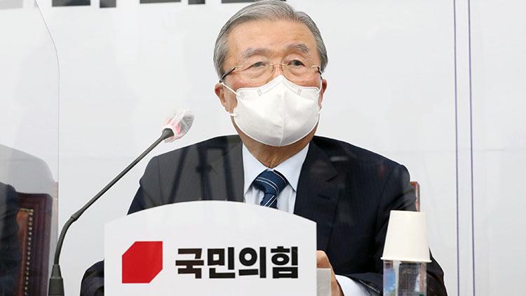 김종인 '尹, '별의 순간' 포착해야…安 현 지지율 의미 없어'