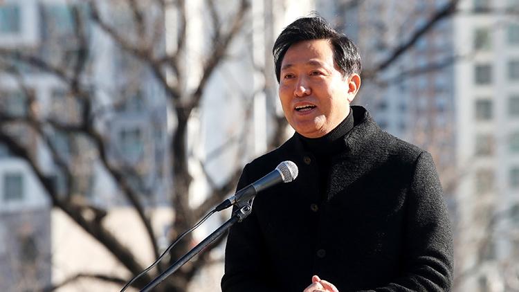 오세훈, 출마선언…'죽어가는 서울 살려내겠다'