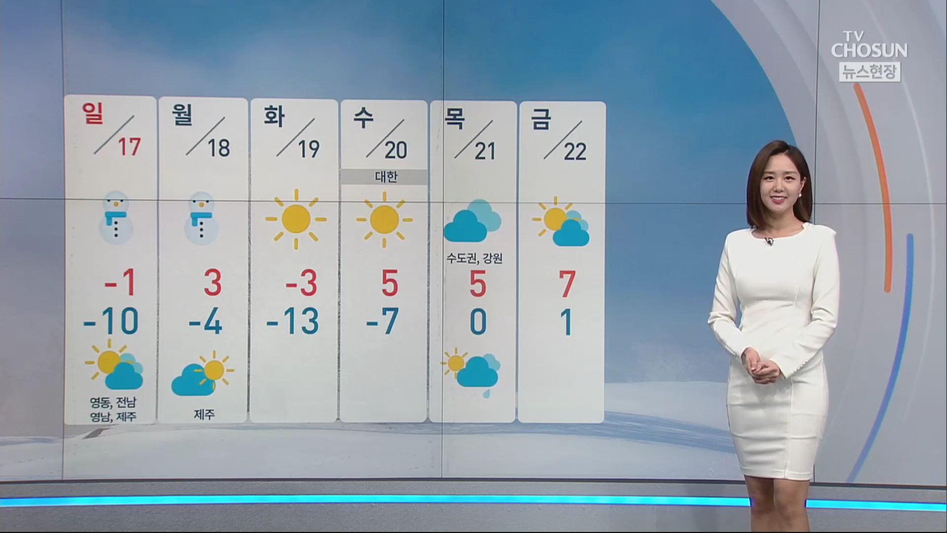 [날씨] 월요일 오후까지 많은 눈…내륙 대설 예비특보