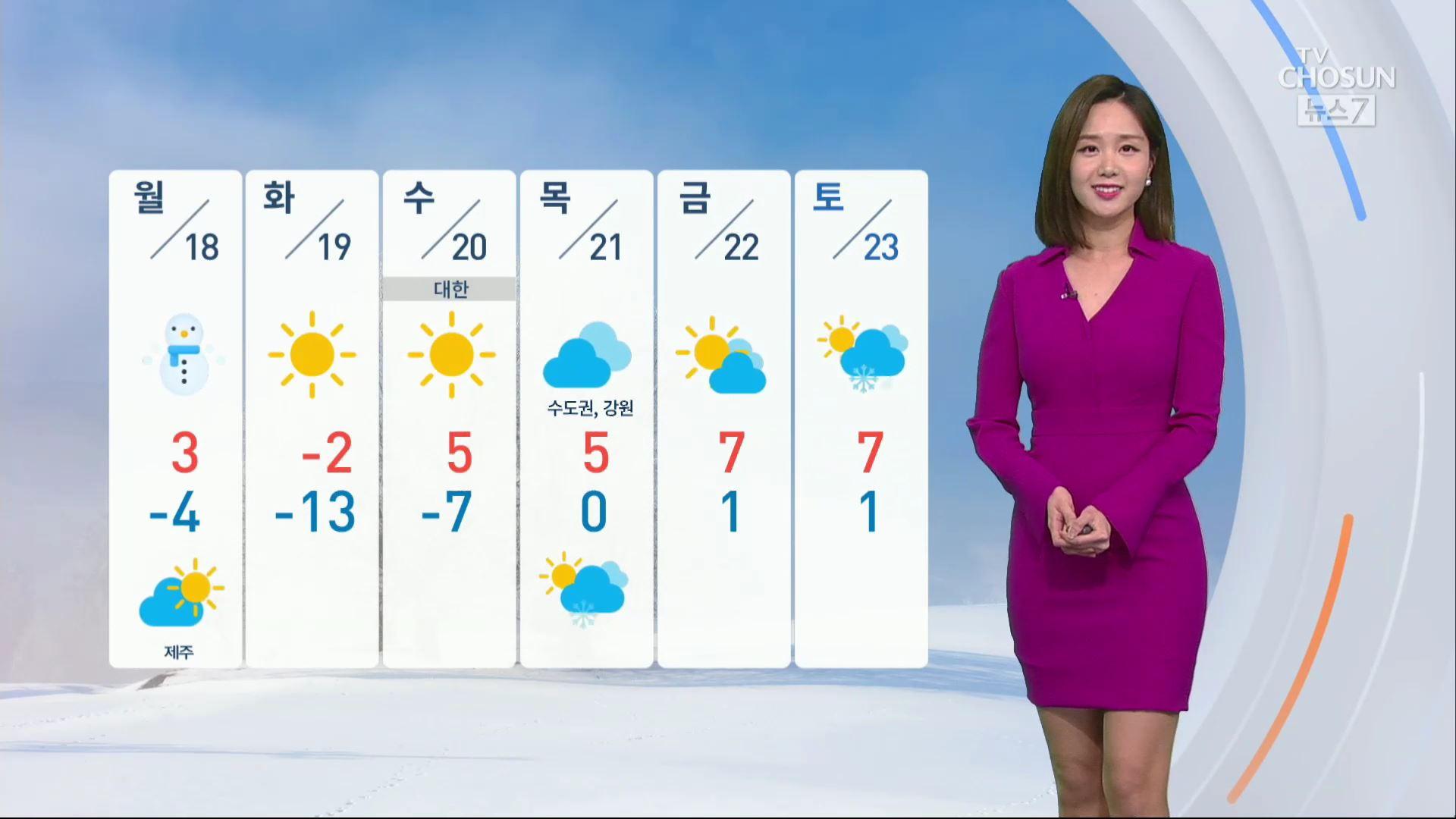 [날씨] 월요일 오후까지 '10~15㎝' 폭설…'출근길 비상'