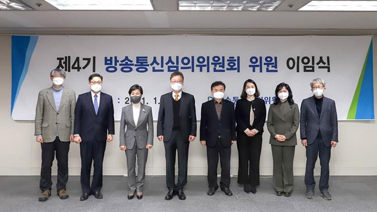 강상현 방심위원장 '정치권에서 심의 독립 위협하는 일 있었다'