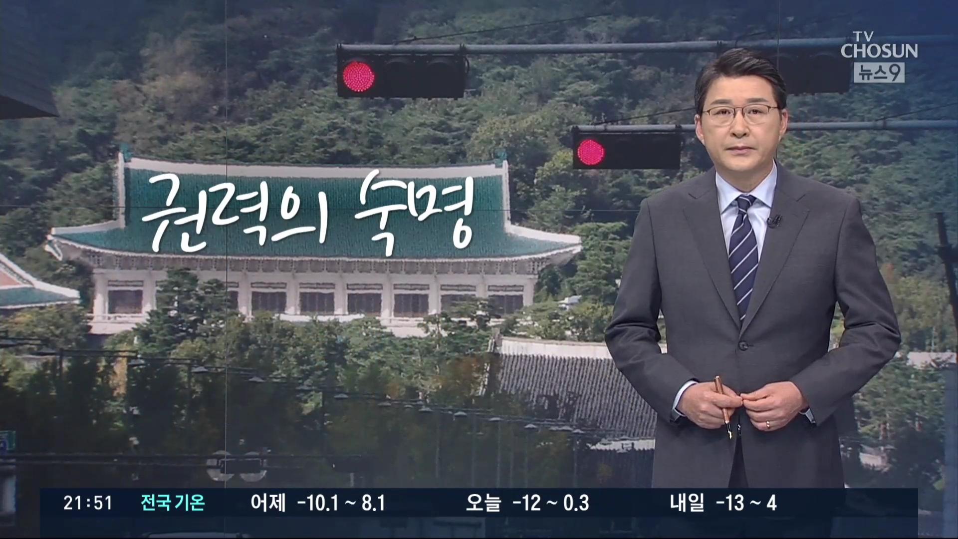 [신동욱 앵커의 시선] 권력의 숙명