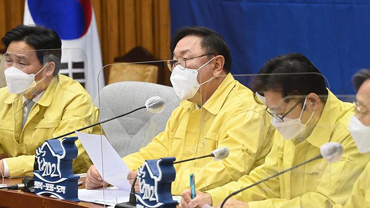 김태년 'MB·朴 불법사찰, 천인공노할 일…野 적반하장'