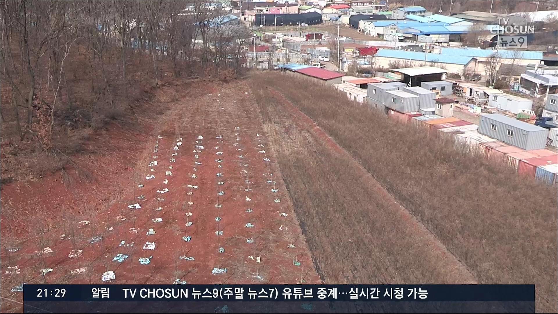 LH직원, 산업단지 발표 8개월 전에도 매입…'땅값 2배 껑충'