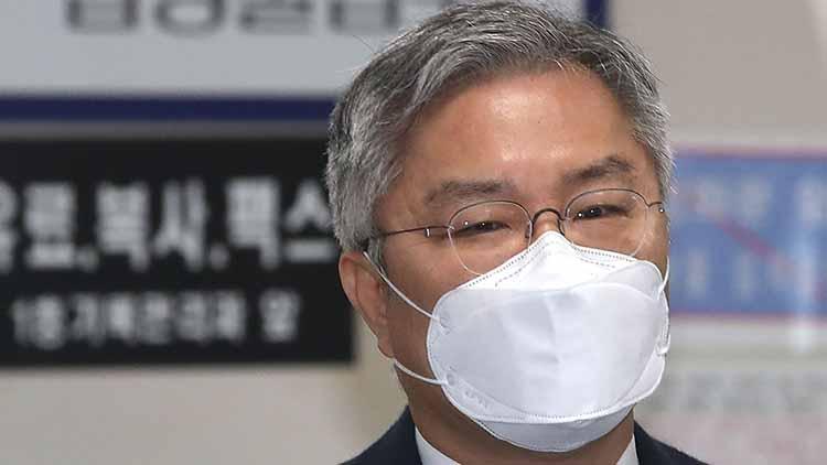 '조국 아들 인턴했다' 선거법 위반 최강욱, 첫 공판서 무죄 주장