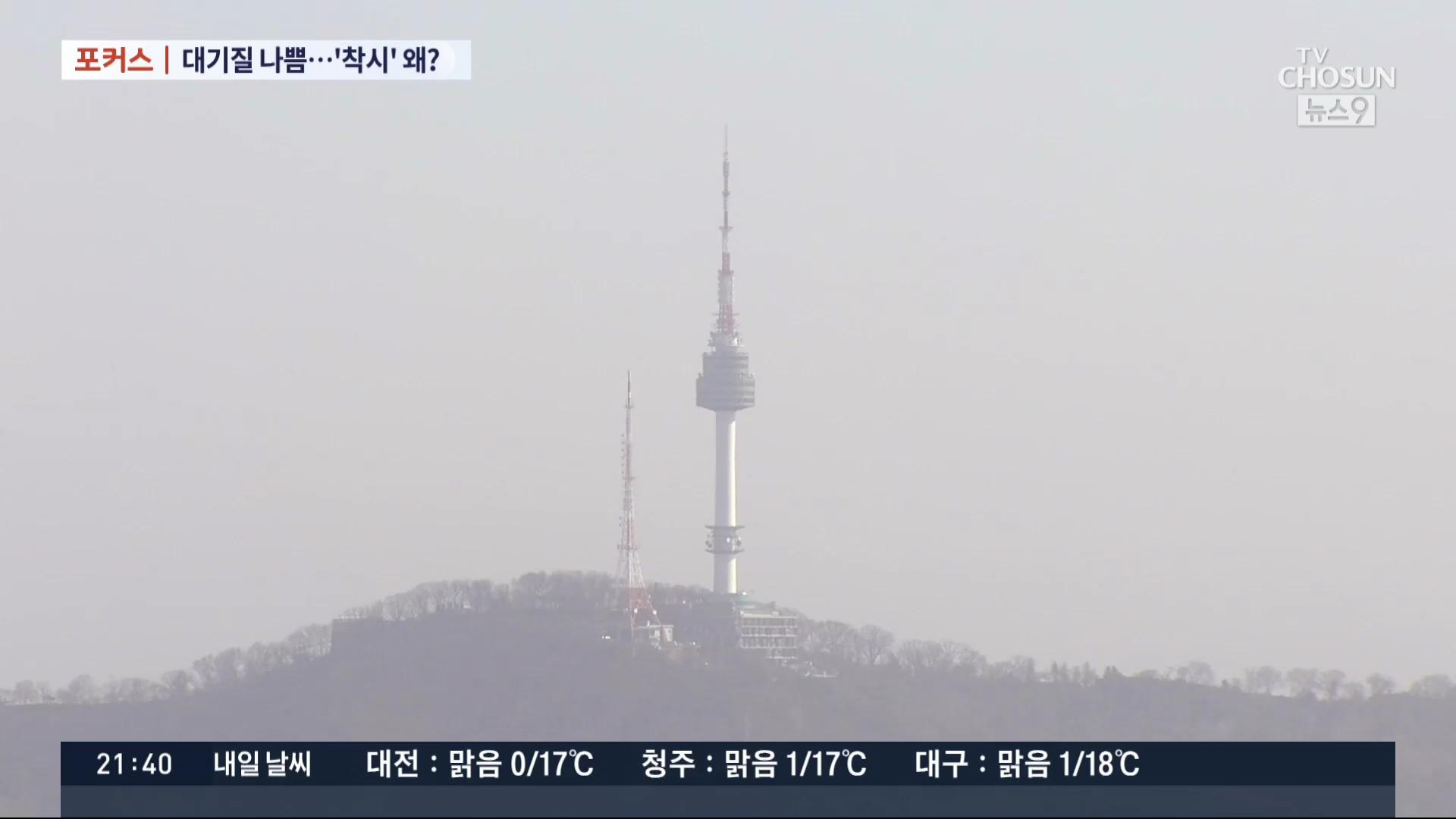 [포커스] 中 최악 황사 뒤덮인 한반도…하늘 맑아도 공기질 나쁘다?