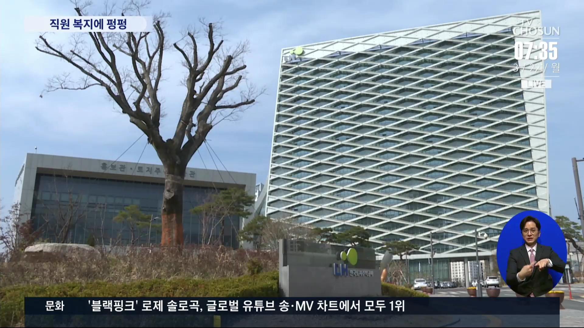 올해 국회 공공기관 보고서 보니…LH 사내복지 출연금 최다