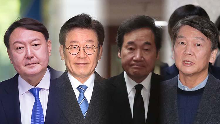 윤석열 27.6%·이재명 19.5%·이낙연 8.8%·안철수 6.2%…서울 조사