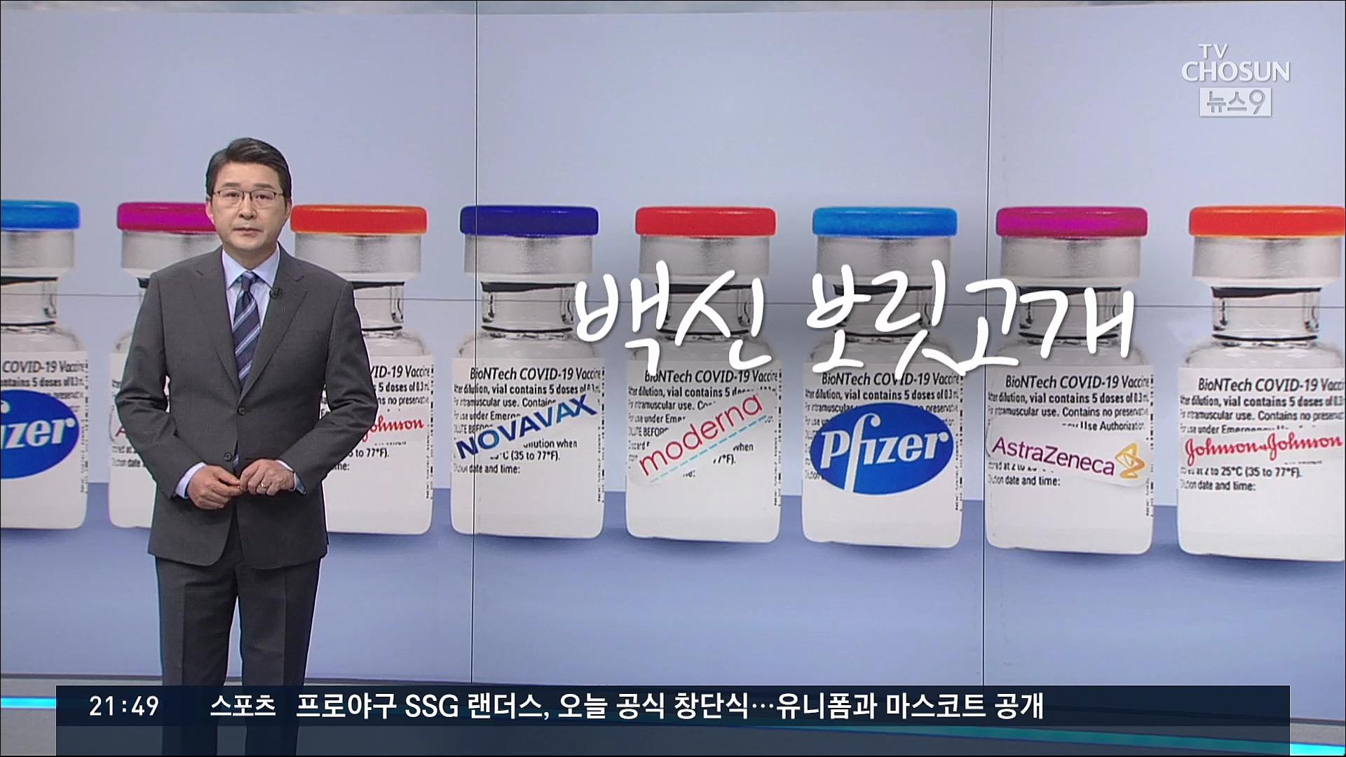 [신동욱 앵커의 시선] 백신 보릿고개