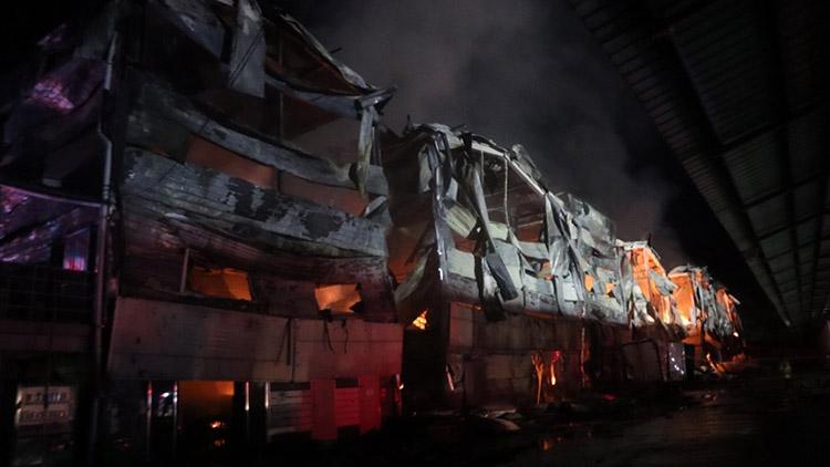 포천 택배 물류창고서 화재…건물 6개동 재산 피해
