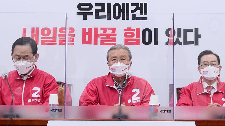 김종인 '높은 사전투표율, 정부에 대한 분노 표시…선관위, 중립·독립성 의심'