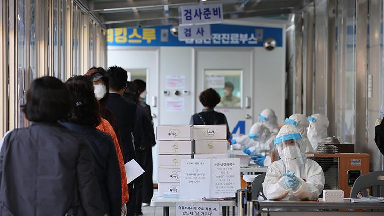 신규확진 이틀째 600명대 후반…감염재생산지수 1.11