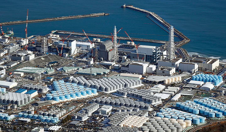 日 정부, 후쿠시마 원전 오염수 해양 방류 결정