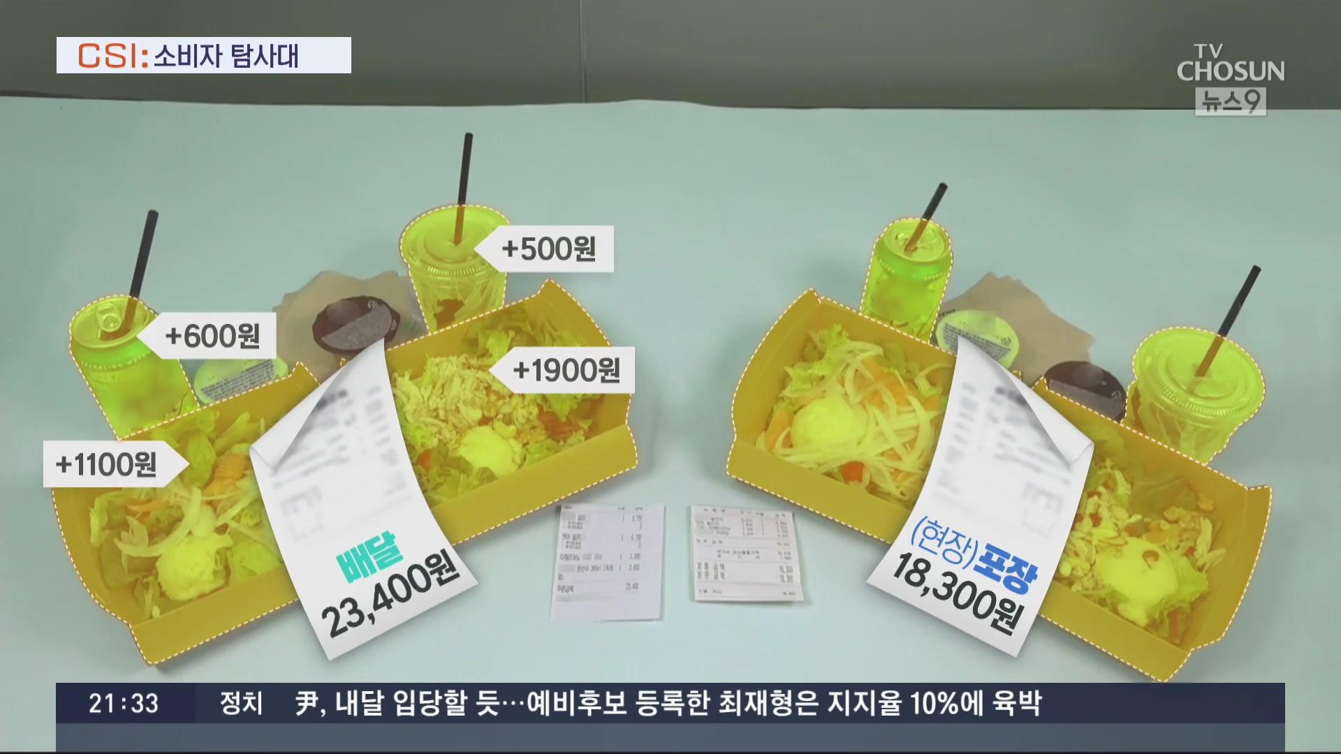 [CSI] 소액·단품 배달료 '갈등'…'남는 게 없다' 업체 '하소연'