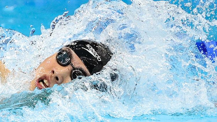'100m까지 세계新'…메달 놓쳤지만 세계 놀라게 한 황선우