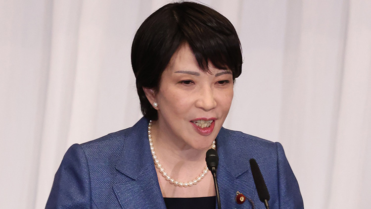 日 총리 후보 다카이치 '韓, 독도에 더는 구조물 만들지 못하게 할 것'