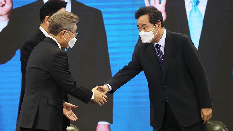 이재명 전북서 다시 1위…'호남대전' 승리
